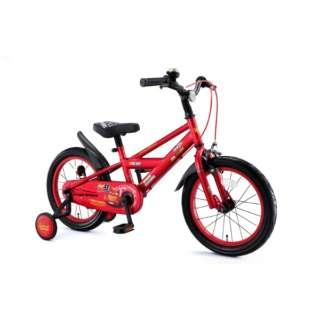 16型 子供用自転車 カーズ3自転車 16インチ(レッド/ライトニング・マックィーン) 0266 【組立商品につき返品不可】