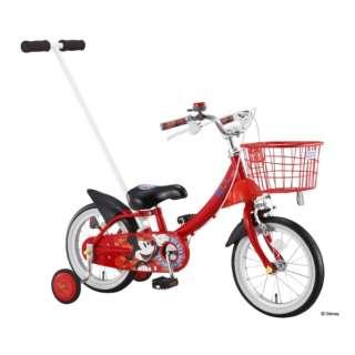 14型 子供用自転車 カジとり カジー14(レッド/ミッキーマウス)0268 【組立商品につき返品不可】