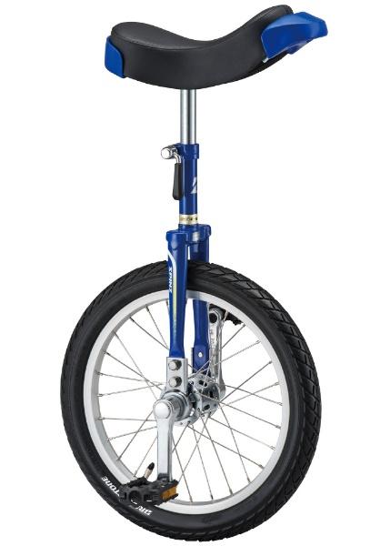 16型 一輪車 スピンズ(乗車可能身長:110cm以上/ブルー)SPN-16
