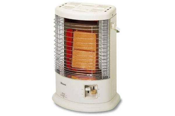 暖房器具のおすすめ【ガスストーブ】リンナイ R-852PMS3