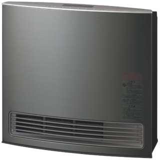 140-6043 ガスファンヒーター Vivace(ビバーチェ) スチールグレー [木造10畳まで /コンクリート14畳まで /プロパンガス]