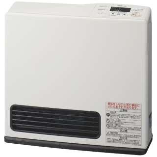 140-9432 ガスファンヒーター eco model ピュアホワイト [木造7畳まで /コンクリート9畳まで /プロパンガス]
