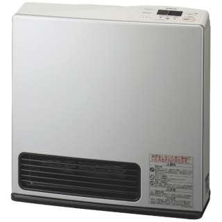 140-9463 ガスファンヒーター eco model ライトシルバー [木造11畳まで /コンクリート15畳まで /プロパンガス]