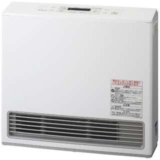 140-9385 ガスファンヒーター eco model ピュアホワイト [木造15畳まで /コンクリート21畳まで /都市ガス12・13A]