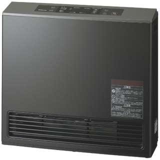 140-9395 ガスファンヒーター eco model ピアノブラック [木造15畳まで /コンクリート20畳まで /プロパンガス]