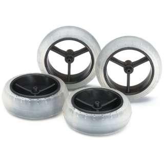 【ミニ四駆】ミニ四駆特別企画 スーパーX・XXカーボン強化大径ナローホイル&ソフトバレルタイヤ