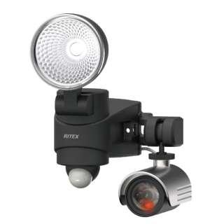 ダミーカメラ付きLEDセンサーライト [白色 /コンセント式]