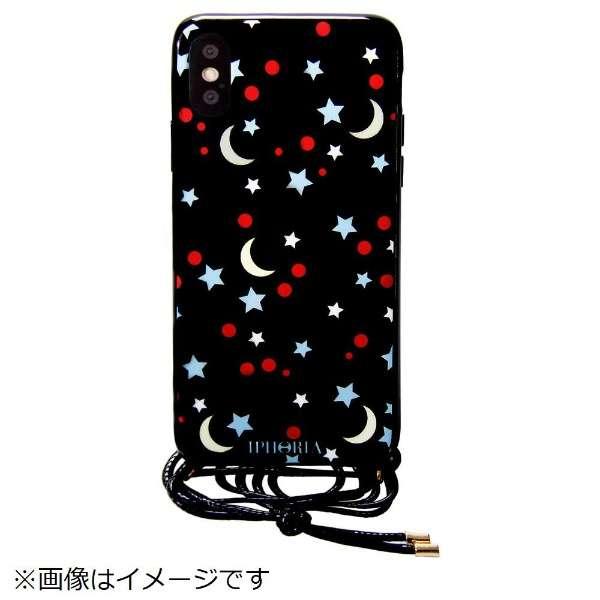 iPhone X TPU Necklace Case Black Sky