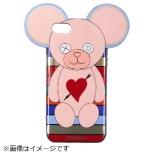 iPhone SE(第2世代)/7/8 対応 TPU Teddy Heart&ArrowStripes Multi