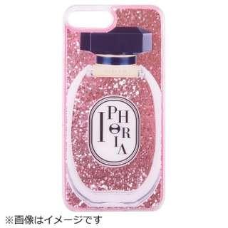 iPhone 8/7 Plus TPU Perfume Round Rose