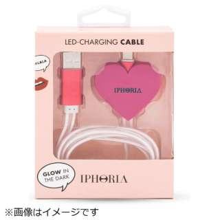 ライトニングケーブル Pink Heart