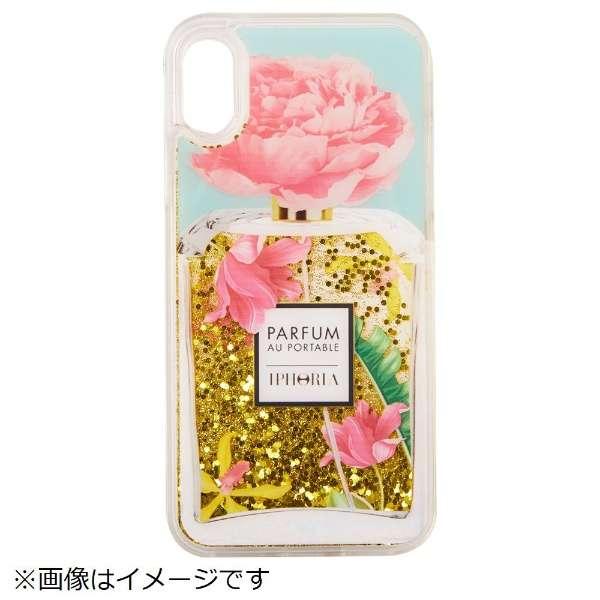 iPhone X TPU Perfume Rose Ornaments