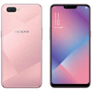 OPPO R15 Neo ダイヤモンドピンク Android 8.1 6.2型 メモリ/ストレージ: 4GB/64GB nanoSIM×2 SIMフリースマートフォン