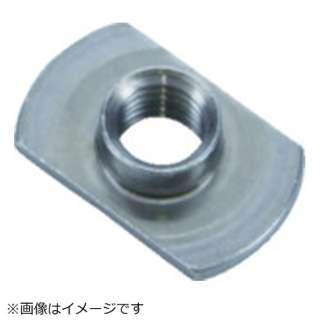 TRUSCO T型溶接ナット 2B M5 P無ダボ無 スチール 14個入
