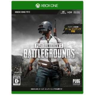 PLAYERUNKNOWN'S BATTLEGROUND 製品版 【Xbox One】