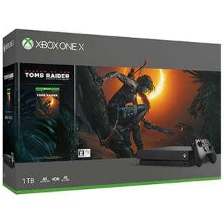 Xbox One X(シャドウ オブ ザ トゥームレイダー同梱版)[ゲーム機本体]