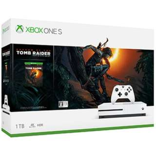 Xbox One S 1TB(シャドウ オブ ザ トゥームレイダー同梱版)[ゲーム機本体]
