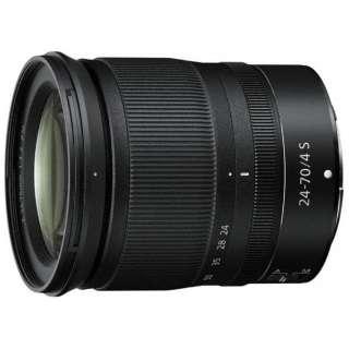 カメラレンズ NIKKOR Z 24-70mm f/4 S NIKKOR(ニッコール) ブラック [ニコンZ /ズームレンズ]