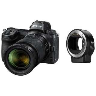 Nikon Z 7 ミラーレス一眼カメラ ブラック [ズームレンズ][FTZ マウントアダプター]