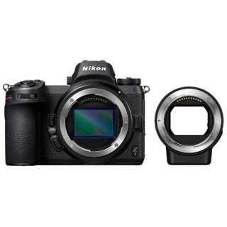Nikon Z 7 ミラーレス一眼カメラ ブラック [ボディ単体][FTZ マウントアダプター]