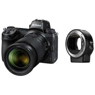 Nikon Z 6 ミラーレス一眼カメラ ブラック [ズームレンズ][FTZ マウントアダプター]