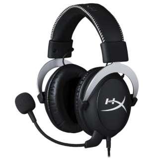 HX-HS5CX-SR ゲーミングヘッドセット CloudX [φ3.5mmミニプラグ /両耳 /ヘッドバンドタイプ]