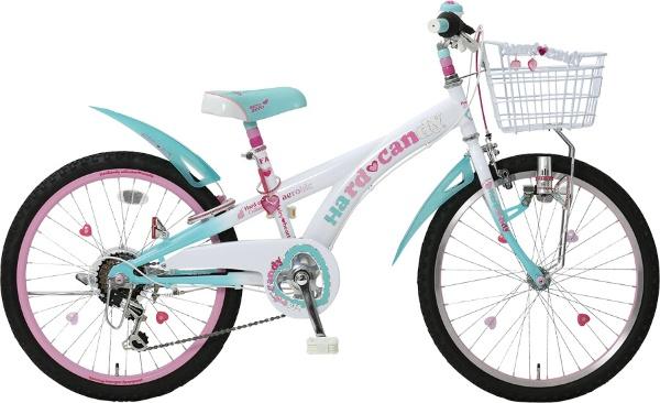 22型 子供用自転車 ハードキャンディCTB226(グリーン/6段変速)