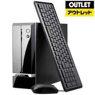 【アウトレット品】 デスクトップPC[Win10 Home・Core i3・メモリ8GB・HDD2TB・SSD120GB・WPS Office Standard]LMI371M8S1H2DW10W 【数量限定品】