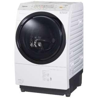 NA-VX3900L-W ドラム式洗濯乾燥機 VXシリーズ クリスタルホワイト [洗濯10.0kg /乾燥6.0kg /ヒートポンプ乾燥 /左開き]