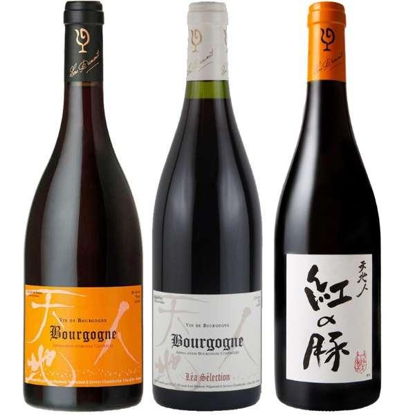 日本人醸造家[仲田さん]が造る極上ブルゴーニュ ルー・デュモン飲み比べセット (750ml/3本)【ワインセット】