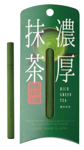 ニューアークス ベイパースティック 濃厚抹茶 電子タバコ 抹茶本舗 NAX044001