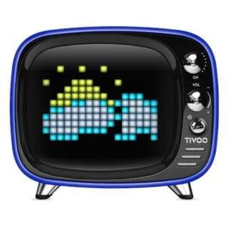 DIV-TIVOO-BL ブルートゥース スピーカー ブルー [Bluetooth対応]