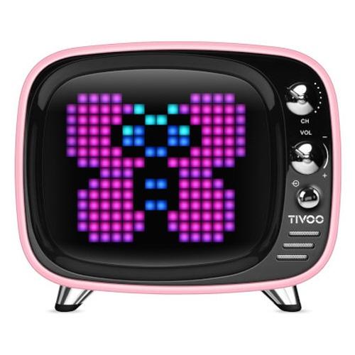 DIVOOM TIVOO SMART PIXEL-ART BLUETOOTH SPEAKER DIV-TIVOO-PK ワイヤレススピーカー