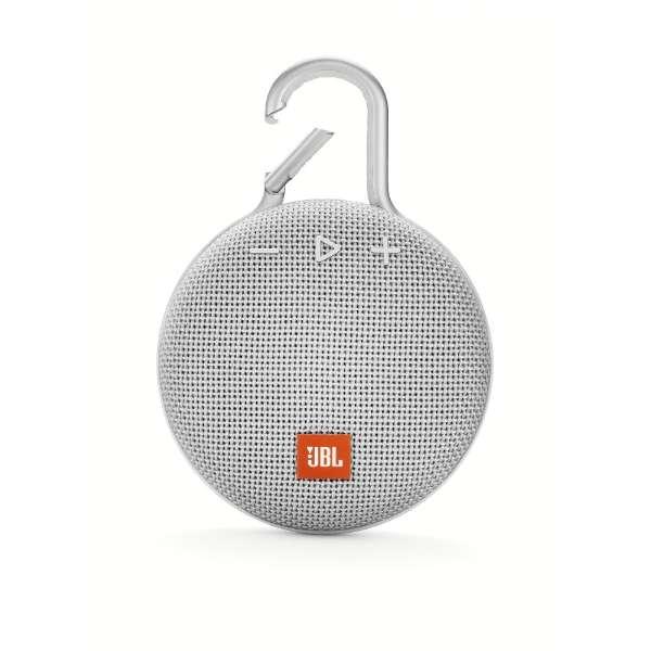 JBLCLIP3WHT ブルートゥース スピーカー ホワイト [Bluetooth対応 /防水]