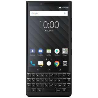 KEY2 ブラック 「BBF 100-9」 Android 8.1 4.5型 メモリ/ストレージ:6GB/128GB nanoSIM×1 ドコモ/au/ソフトバンクSIM対応 SIMフリースマートフォン BBF1009 ブラック