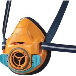 シゲマツ 防毒マスク・防じんマスク TW01SC オレンジ L