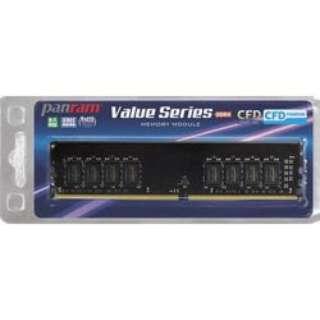 CFD Panram DDR4-2666 デスクトップ用メモリ 288pin DIMM 8GB 1枚組