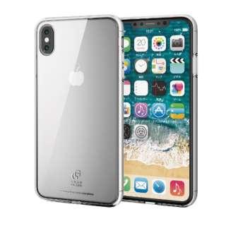 iPhone XS Max 6.5インチ用 ハイブリッドケース ガラス スタンダード PM-A18DHVCG1CR