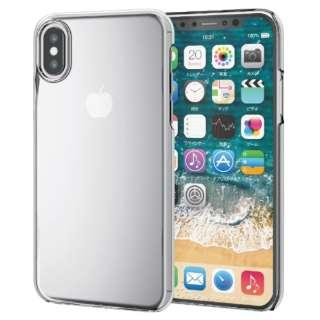 iPhone XS 5.8インチ用  フレックスシェルカバー TR-90 PM-A18BTRCR