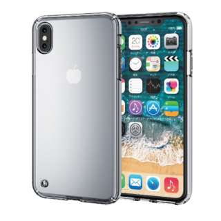 iPhone XS Max 6.5インチ用 ハイブリッドケース PM-A18DHVCCR