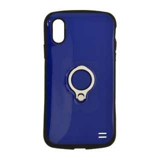 iPhone XR 6.1インチ用 VANILLA PACK RING 4254IP861HB ネイビー