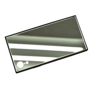 iPhone XR 6.1インチ用 ハイブリットTPUミラーガラスケース 4318IP861HB シルバー