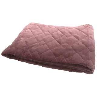 【敷きパッド】フランネル敷きパッド シングルサイズ(100×205cm/ピンク)