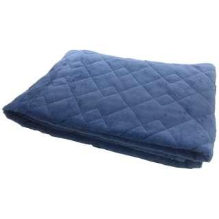 【敷きパッド】フランネル敷きパッド ダブルサイズ(140×205cm/ブルー)