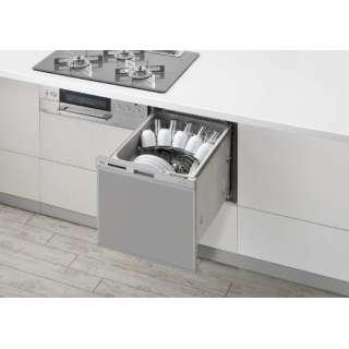 RSW-404A-SV ビルトイン食器洗い乾燥機 シルバー [5人用]