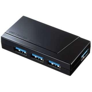 USB-3H418BK USBハブ ブラック [USB3.0対応 /4ポート /バス&セルフパワー]