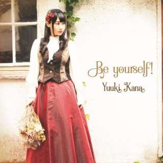 優木かな/ Be yourself! 初回限定盤 【CD】