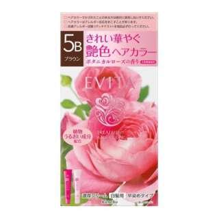 EVITA(エビータ)トリートメントヘアカラー 5B ブラウン