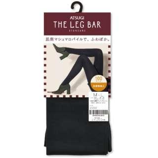 ATSUGI THE LEG BAR(アツギザレッグバー)100デニール 濃密マットプレーン(L-LL)ブラック[タイツ]