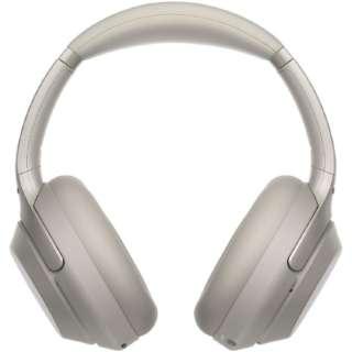 ブルートゥースヘッドホン プラチナシルバー WH-1000XM3 [リモコン・マイク対応 /Bluetooth /ハイレゾ対応 /ノイズキャンセリング対応]